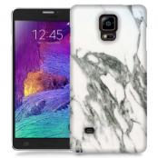 Skal till Samsung Galaxy Note Edge - Marble - Vit/Grå