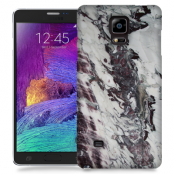 Skal till Samsung Galaxy Note Edge - Marble - Vit/Svart