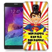Skal till Samsung Galaxy Note Edge - Min pappa kan slå din pappa