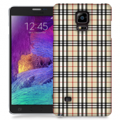 Skal till Samsung Galaxy Note Edge - Rugit - Beige