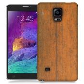 Skal till Samsung Galaxy Note Edge - Slitet trä