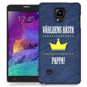 Skal till Samsung Galaxy Note Edge - Världens bästa pappa
