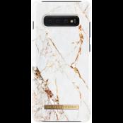 iDeal of Sweden Fashion Case Samsung Galaxy S10 Plus - Carrara Gold
