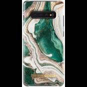 iDeal of Sweden Fashion Case Samsung Galaxy S10 Plus - Golden Jade Marble