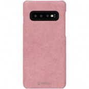 Krusell Broby Cover Samsung Galaxy S10 Plus - Rosa