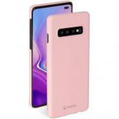 Krusell Sandby Cover Samsung Galaxy S10 Plus - Dusty Pink