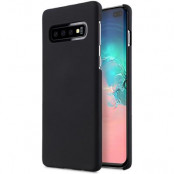 Melkco Rubberized Cover Samsung Galaxy S10 Plus -Black