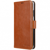 Melkco Wallet Case Samsung Galaxy S10 Plus - Brun