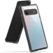 Ringke Fusion Shock Absorption Skal till Samsung Galaxy S10 Plus - Grey