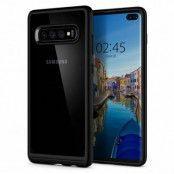 Spigen Ultra Hybrid Skal till Samsung Galaxy S10 Plus - Svart