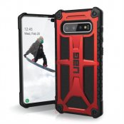 UAG Monarch Skal till Samsung Galaxy S10 Plus - Crimson
