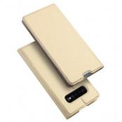 Dux Ducis Plånboksfodral Samsung Galaxy S10 - Gold