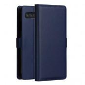 DZGOGO Milo Plånboksfodral till Samsung Galaxy S10 - Blå