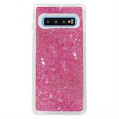 Glitter Skal till Samsung Galaxy S10 - Rosa