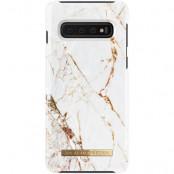 iDeal of Sweden Fashion Case Samsung Galaxy S10 - Carrara Gold