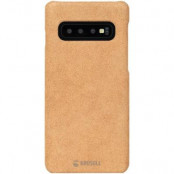 Krusell Broby Cover Samsung Galaxy S10 - Cognac
