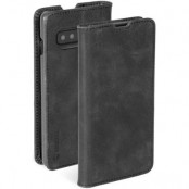 Krusell Sunne 2 Card Foliowallet Samsung Galaxy S10 - Vintage Black