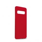 Puro Icon Cover till Samsung Galaxy S10 - Röd