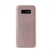 Puro Shine Cover till Samsung Galaxy S10 - Rosaguld