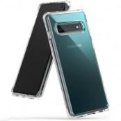 Ringke Fusion Shock Absorption Skal till Samsung Galaxy S10 - Clear