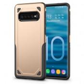 Rugged Armor Skal till Samsung Galaxy S10 - Guld