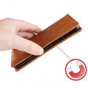 Vintage Plånboksfodral till Samsung Galaxy S10 - Brun
