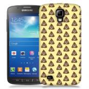 Skal till Samsung Galaxy S5 Active - Emoji - Bajs