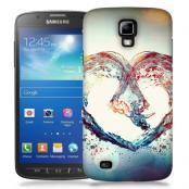 Skal till Samsung Galaxy S5 Active - Hjärta - Vatten