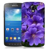 Skal till Samsung Galaxy S5 Active - Lila blommor