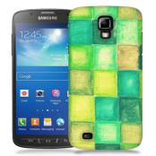 Skal till Samsung Galaxy S5 Active - Målning - Rutor