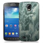 Skal till Samsung Galaxy S5 Active - Marble - Grön