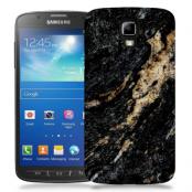 Skal till Samsung Galaxy S5 Active - Marble - Svart