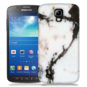Skal till Samsung Galaxy S5 Active - Marble - Vit