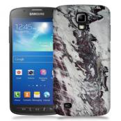 Skal till Samsung Galaxy S5 Active - Marble - Vit/Svart