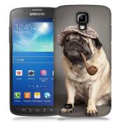 Skal till Samsung Galaxy S5 Active - Mops med keps