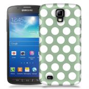 Skal till Samsung Galaxy S5 Active - Polka - Grön