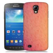 Skal till Samsung Galaxy S5 Active - Prismor - Rosa/Orange