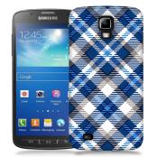 Skal till Samsung Galaxy S5 Active - Randigt och rutigt