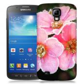 Skal till Samsung Galaxy S5 Active - Rosa blommor