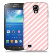Skal till Samsung Galaxy S5 Active - Stripes - Ljusrosa