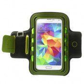 Armband med blinkande lampor till Samsung Galaxy S5 - Grön