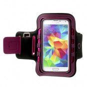Armband med blinkande lampor till Samsung Galaxy S5 - Magenta