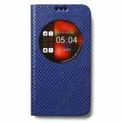 Avoc ZView Stella Diary Väska till Samsung Galaxy S5 (Blå)