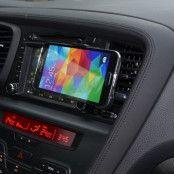 Bilhållare till bilens fläktgaller för Samsung Galaxy S5