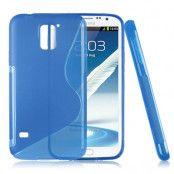 FlexiSkal till Samsung Galaxy S5 i9600 (Blå)