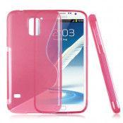 FlexiSkal till Samsung Galaxy S5 i9600 (Magenta)