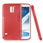 FlexiSkal till Samsung Galaxy S5 i9600 (Röd)