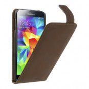 Flipfodral till Samsung Galaxy S5 - Coffee