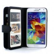 Gear 3.0 Plånboksfodral till Samsung Galaxy S5 - Svart