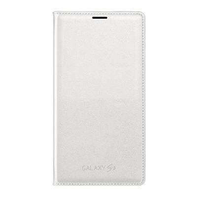 Genuine Flip Wallet Samsung Galaxy S5 - Vit